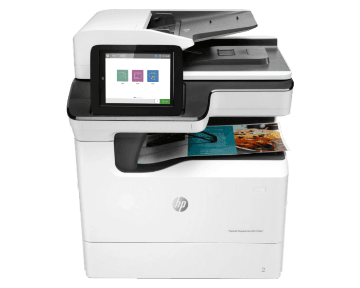 HP PageWide Managed Color MFP E77650dn管理型彩色页宽复合机