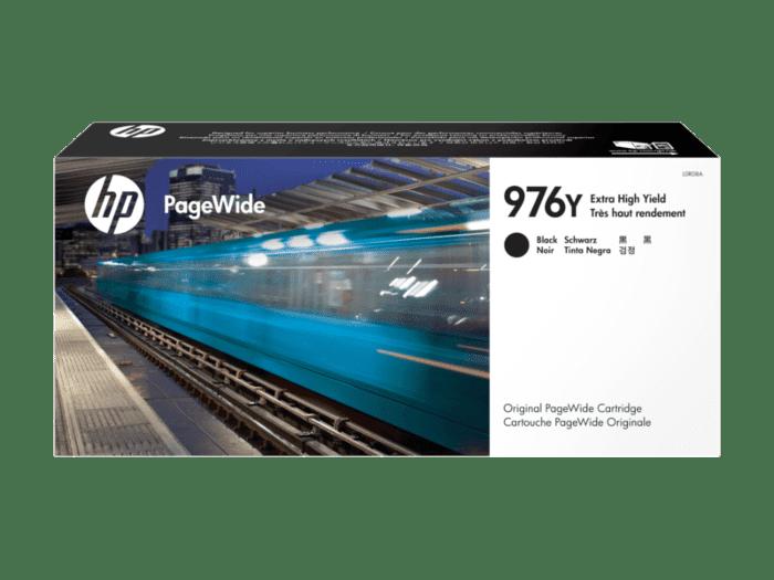HP 976Y 超高印量黑色原装 PageWide 墨盒