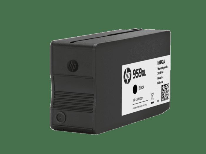 HP 959XL 高印量黑色原装墨盒(适用机型HP Officejet Pro 8210/8216/8720/8730/7720/7730/7740*)