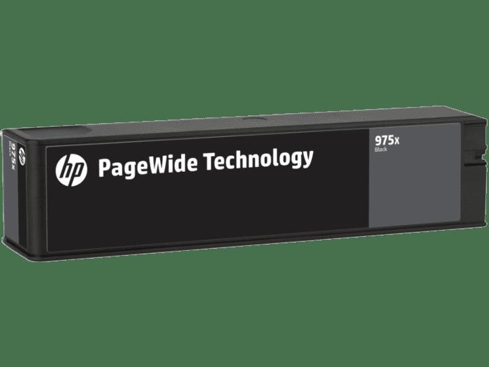HP 975X 高印量黑色原装 PageWide 墨盒