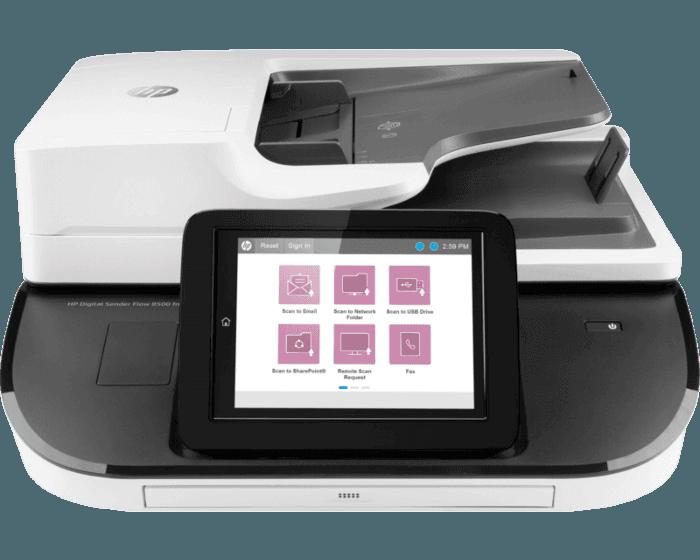HP Digital Sender Flow 8500fn2文档扫描工作站