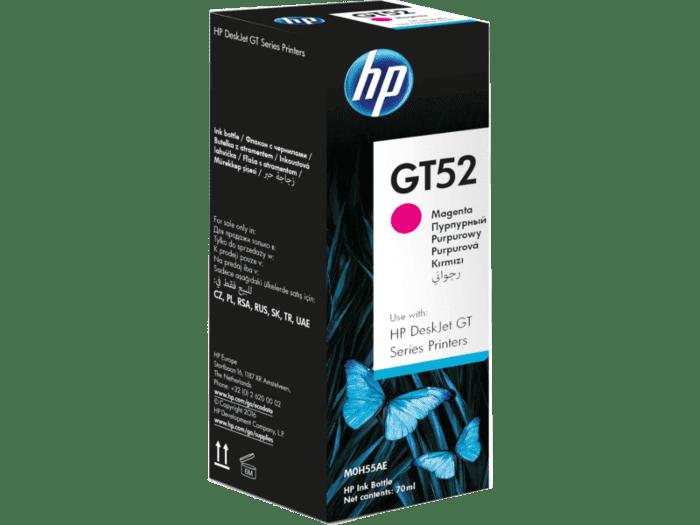 HP GT52 原装品红色墨水瓶