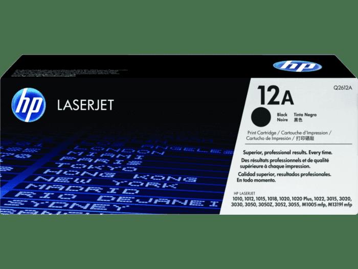 HP 12A 黑色原装 LaserJet 硒鼓