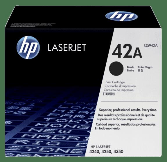 HP 42A 黑色原装 LaserJet 硒鼓