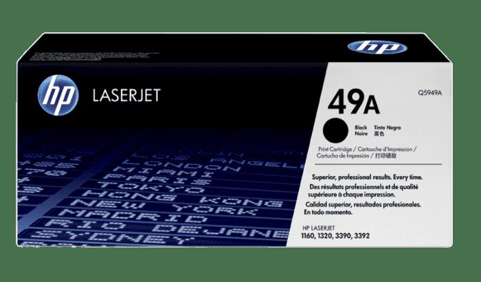 HP 49A 黑色原装 LaserJet 硒鼓