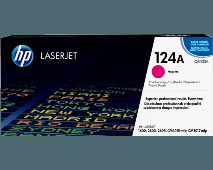 HP 124A 品红色原装 LaserJet 硒鼓