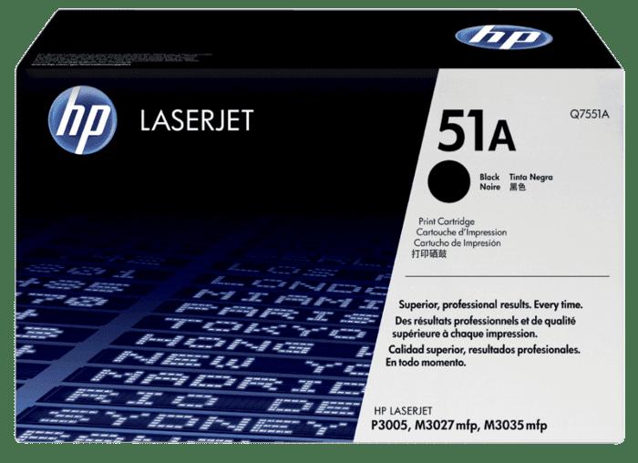 HP 51A 黑色原装 LaserJet 硒鼓