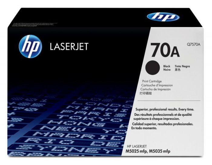 HP 70A 黑色原装 LaserJet 硒鼓