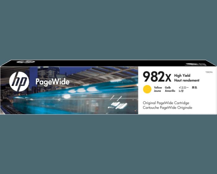 HP 982X PageWide 高印量黄色原装墨盒