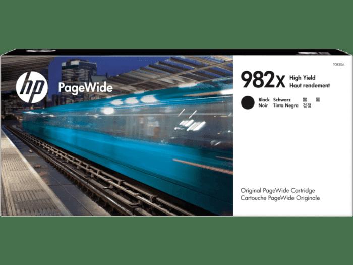 HP 982X PageWide 高印量黑色原装墨盒