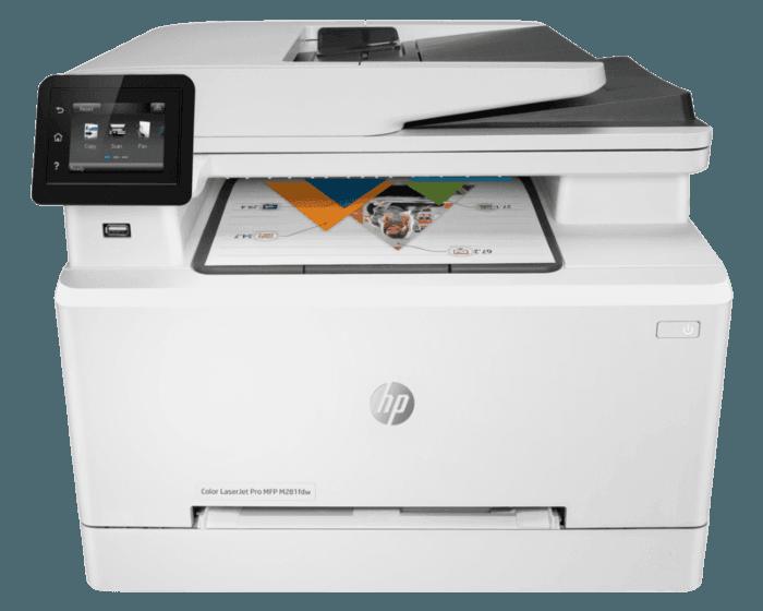 HP LaserJet Pro M281fdw彩色多功能一体机