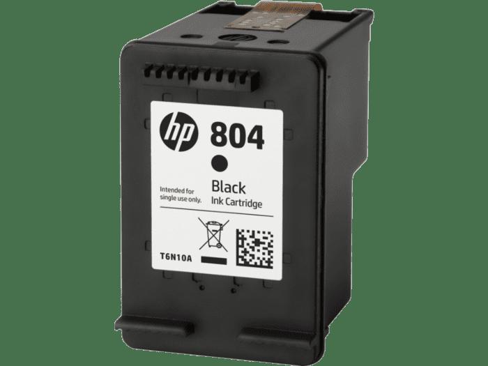 惠普 804 号黑色原装墨盒