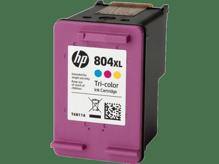 惠普 804XL 高印量三色原装墨盒