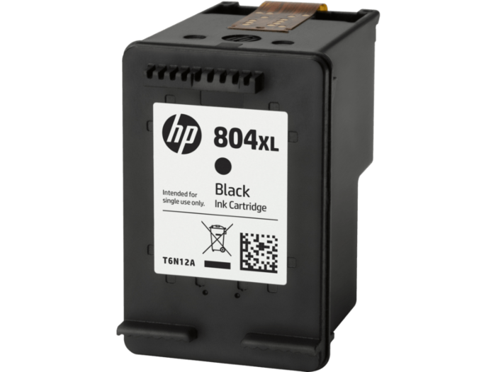 惠普 804XL 高印量黑色原装墨盒
