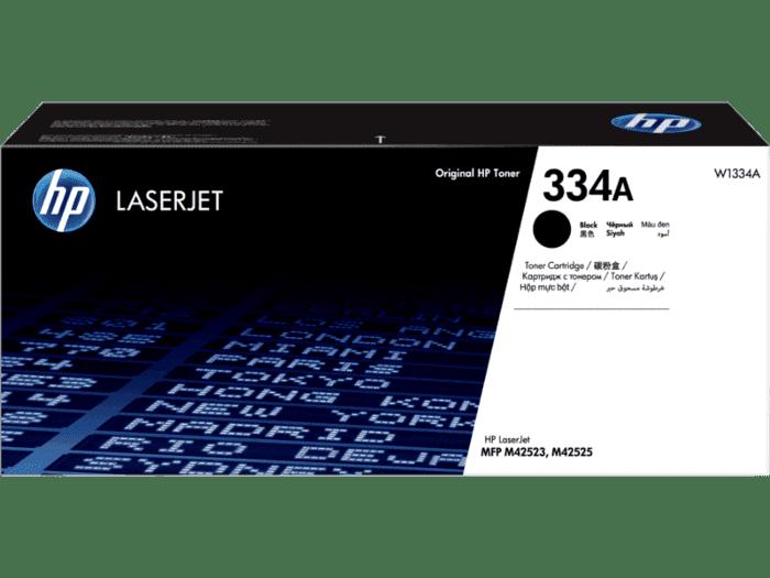 HP 334A 黑色原装硒鼓(适用HP LaserJet M42523/42525 MFP系列)