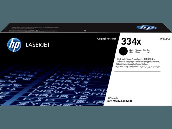 HP 334X 高印量黑色原装硒鼓(适用HP LaserJet M42523/42525MFP系列)
