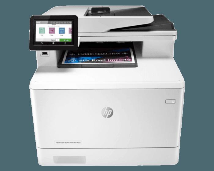 HP Color LaserJet Pro MFP M479fdw 彩色激光多功能一体机