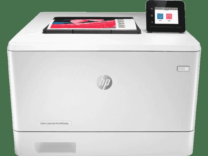 HP Color LaserJet Pro M454nw 彩色激光打印机