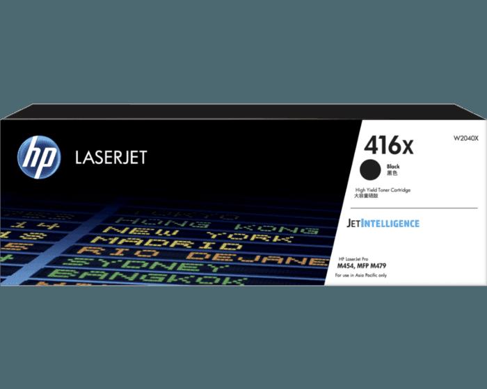 HP 416X 高印量黑色原装硒鼓(适用HP Color LaserJet Pro M454/ MFP M479系列)