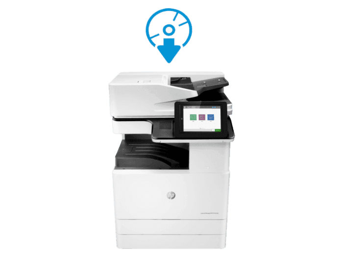 HP LaserJet MFP E72535dn 管理型数码复合机