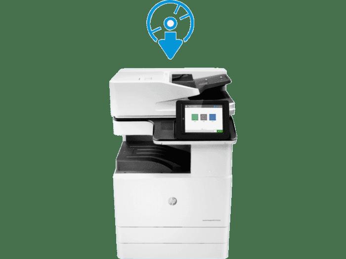HP Color LaserJet MFP E77825dn 管理型彩色数码复合机