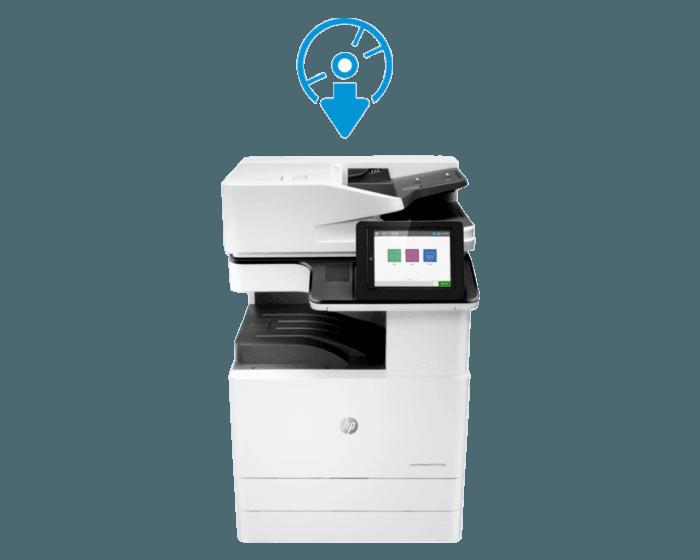 HP Color LaserJet MFP E77830dn 管理型数码复合机