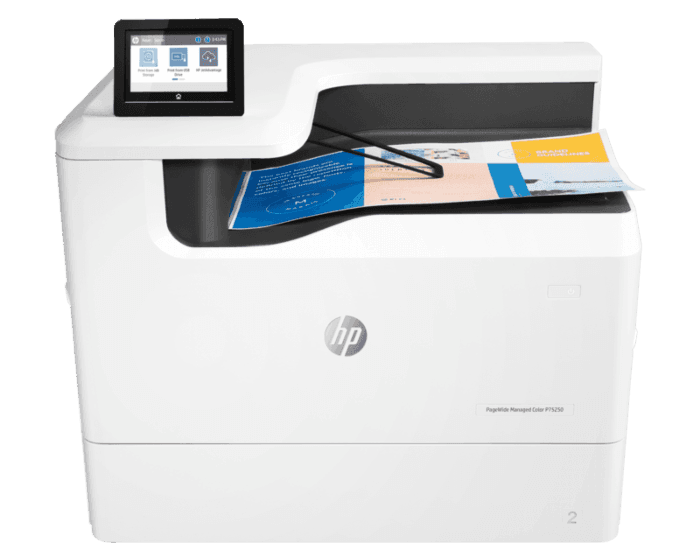 HP PageWide Managed Color P75250dn 管理型彩色页宽打印机