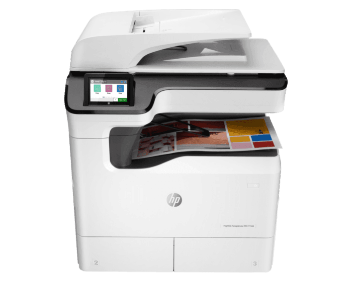 HP PageWide Managed Color MFP P77440dn 管理型彩色页宽数码复合机