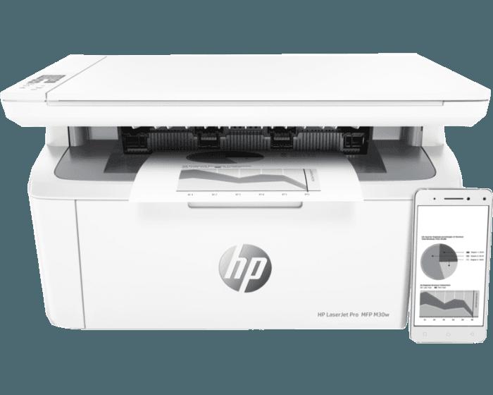 HP LaserJet Pro MFP M30w 多功能一体机