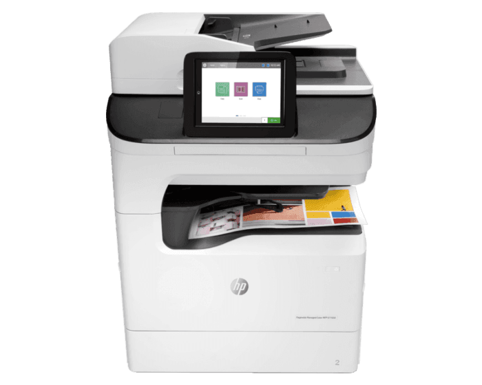 HP PageWide Managed Color MFP E77650dns管理型彩色页宽复合机
