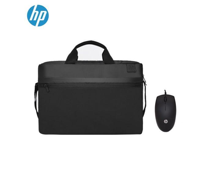 惠普(HP)商用15.6英寸有线单肩包鼠套装