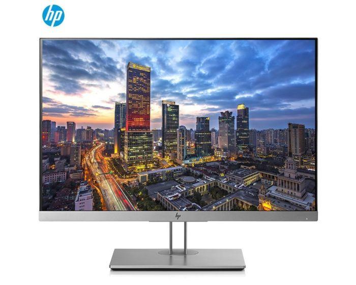 惠普(HP)E243i 24英寸 IPS宽屏16:10 三面微边框显示器 旋转升降 99%sRGB HDMI线 DP线 低蓝光显示屏