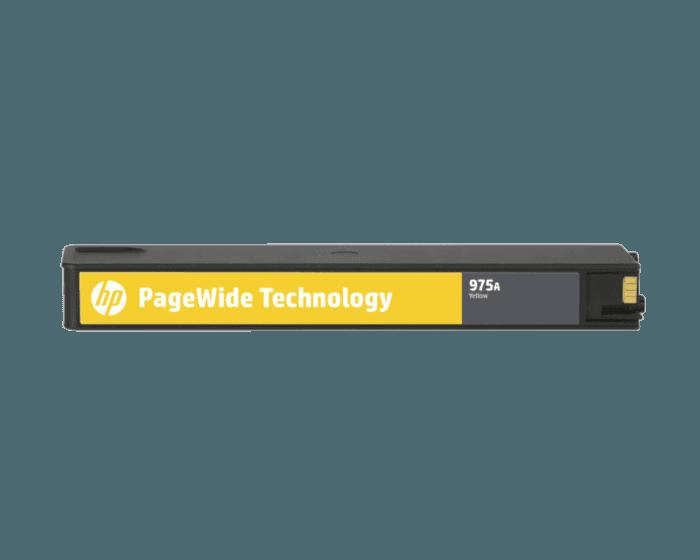 HP 975A 黄色原装 PageWide 墨盒