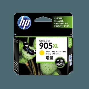 HP 905XL 高印量黄色原装墨盒