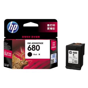 HP 680 号 Ink Advantage 黑色原装墨盒
