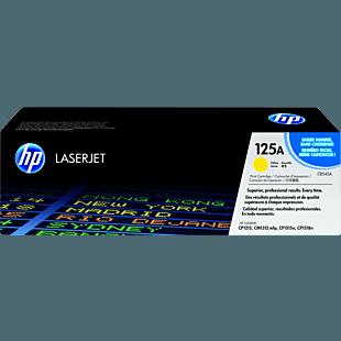 HP 125A 黄色原装 LaserJet 硒鼓
