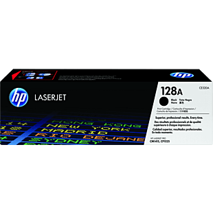 HP 128A 黑色原装 LaserJet 硒鼓