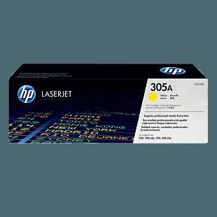 HP 305A 黄色原装 LaserJet 硒鼓