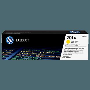 HP LaserJet  201A 黄色原装硒鼓