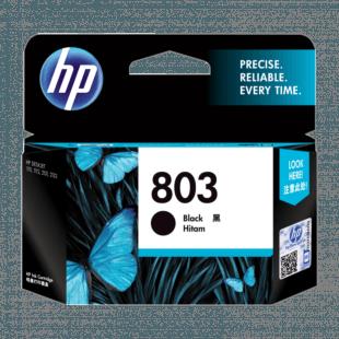 HP 803 号黑色原装墨盒