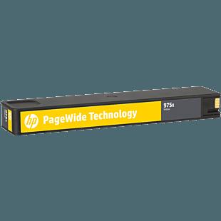 HP 975X 高印量黄色原装 PageWide 墨盒