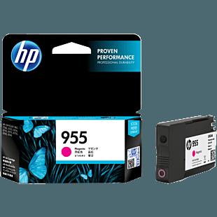 HP 955 号品红色原装墨盒