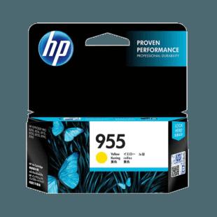 HP 955 号黄色原装墨盒
