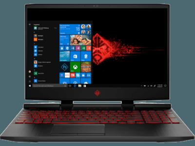 惠普(HP)暗影精灵5  OMEN 15-dc1080TX   15.6英寸游戏笔记本电脑(i7-9750H 8G*2 1TBSSD GTX1660Ti 6G独显 144Hz)