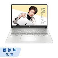 【蔡徐坤代言】惠普(HP)星14s-fr1002AU青春版 14英寸轻薄窄边框笔记本电脑(Windows 10 家庭版/R5-5500U 16G 512GSSD UMA 天然银)