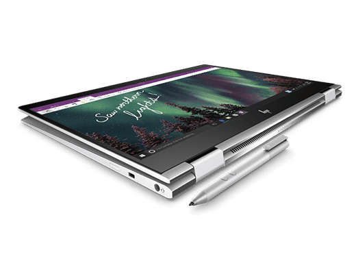 HP Elitebook x360 Tablet mode